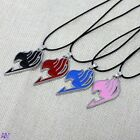 Fairy Tail Anime Logo Metal Necklace Cosplay 4 colours UK Stock