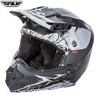 Fly F2 Carbon Mips Motocross Enduro Retrospec Adult Helmet Matt White Black