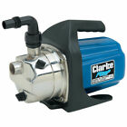 """CLARKE SPE1200SS Electric Water Pumo 1"""" output elbow 230V 61 L/Min 1ph motor"""