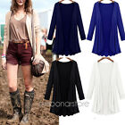 Women Cardigan Long Sleeve Sweater Outwear Loose Jacket Coat Outwear Solid New
