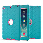 Hybrid Anti-drop Soft Rubber Protective Hard Case Cover For iPad 2/3/4 Mini Air