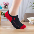Men socks POLO 1-5 Pairs/lot Athletic Casual breathable Cotton  No-Show Socks