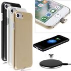 For Apple iPhone 7 6S 6 QI Wireless Charger Charging Power Pad Receiver Case
