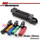 """M-Grip CNC 1"""" Adjustable Riser Front Foot Pegs for Buell S3 Thunderbolt All year"""