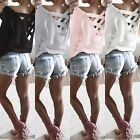 Womens Long Sleeve Sweatshirt Pullover Ladies Casual Tops T-Shirt Blouse S M L