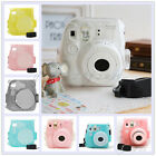 CAIUL Transparent Crystal Comprehensive Protection Instax Mini 8 Camera Case Bag