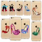 Romantic High Heels Shoes Case Cover For Apple iPhone 7 6 6S 7Plus 5 5S SE 6Plus