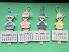 Calendar 2017 stocking filler gift Doll Cute Unique turns into wooden Bookmark