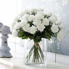 43CM Artificial Silk Fake Rose Flowers Wedding Party Home Garden Bouquet Decor