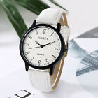 Women Leather Band Watches Fashion Casual Simple  Analog Quartz Wrist Watches image