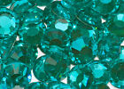 BLUE ZIRCON SWAROVSKI CRYSTAL FLATBACK  FACTORY PACK