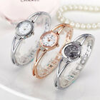 Luxury Fashion Women's Crystal Stainless Steel Quartz Analog Wrist Watch Band P