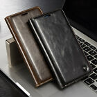CaseMe Real Leather Wallet Card Holder Flip Stand Case Cover For SmartPhone S001