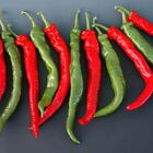 "Mesilla (Hybrid Hot Pepper) Seeds- HUGE 10"" long x 1-1/2"" wide  fruit!! WOW!!!!"