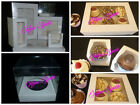 Clear Window Cupcake Boxes For 1, 2, 4, 6, 12 Cakes With Removable Insert White