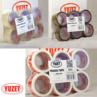 Yuzet Brown Clear Fragile Packing Tape Printed Parcel Carton Sealing sellotape