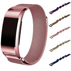 Milanese Magnetic Loop Stainless Steel Watch Band For Fitbit Charge 2 Bracelet~