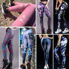 Women Sports Gym Yoga Running Pants Training Athletic Trousers Fitness Leggings