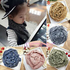 Kid's Fashion Pink Blue Star Pentagram Long Soft Cotton Stole Shawl Scarf 6Color