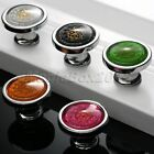 Hot Crystal Flower Door Knobs Drawer Cabinet Cupboard Furniture Kitchen Handle