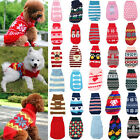 Pet Dog Cat Puppy Warm Knit Coat Clothes Sweater Vest Jacket Apparel Costume