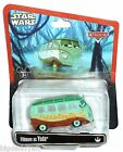 New Disney Star Wars Weekends Figure Pixar Cars Fillmore as Yoda Parks Exclusive
