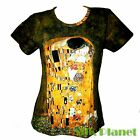 GUSTAV KLIMT the Kiss Love Romance Erotic T SHIRT NOUVEAU FINE ART PRINT PAINTNG