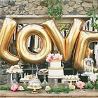 LOVE Helium Foil Ballons Letter Baloon Wedding Party Valentine Sweet