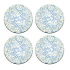 A Pack of 4 blue floral design Pattern Weights inspired TV Sewing Bee