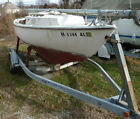 Hard-to-find Bristol! 19 Sailboat - Sailstar Corinthian w Calkins Trailer