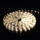 50 100 150 ft 110V LED Light Rope String Outdoor Tree Party Garden Lighting