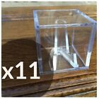 Championship Ring Display Case Box Clear Stand Holder Cube Sport Fantasy Footbal