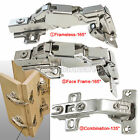 135/165 Degree Kitchen Cabinet Cupboard Corner BI FOLD Door Hinges Combination