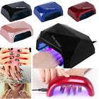 9W 36W LED Nail Dryer Diamond Shape Curing Machine For UV Gel Lamp Nail Polish