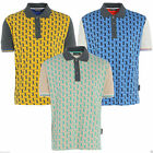 Golf Junkie Tour Men's Casual Short Sleeve Golf Polo Shirt Top FREE P&P Cotton