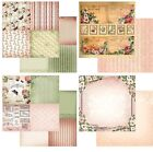 """Couture Creations Vintage Rose Garden Double-Sided Paper 12""""X12"""" versch.Motive I"""