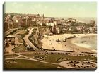 Canvas Print Of broadstairs, from the gardens