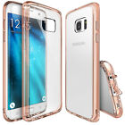 Galaxy S7 Edge Clear Case Cover [Ringke Fusion] Shockproof Protection