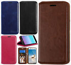 For LG Aristo Premium Photo Wallet Case Pouch Flap STAND Cover Accessory