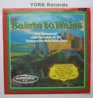 IVOR EMMANUEL & FRONCYSYLLTE MALE VOICE CHOIR - Salute To Wales - Ex LP Record