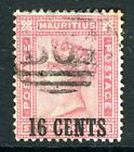 SEYCHELLES/MAURITUS-1883 16c on 17c  Rose fine example used in Seychelles Sg Z62