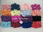 78 FOAM ROSES 5cm Mix n Match + 2 rolls stem tape  ARTIFICIAL WEDDING FLOWERS