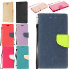 For Lg Optimus Fuel L34C Two Tone Wallet Case Pouch Flip Phone Cover Accessory