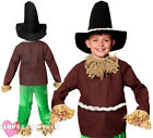 CHILD SCARECROW COSTUME KIDS FANCY DRESS BOYS GIRLS SCHOOL BOOK WEEK CHARACTER