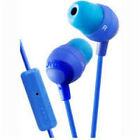 Jvc Hafr37a Marshmallow Earbuds Mic & Remote Blue Headphone