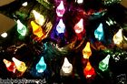 SMALL Star LIGHT Twinkle 4 COLOR choice CERAMIC CHRISTMAS TREE bulb image