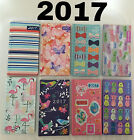 2017 Slim Pocket Diary, Week To View Diaries, Choice of Designs