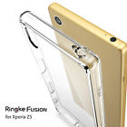 Xperia Z5 Clear Case [Ringke Fusion] Shockproof Protection
