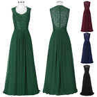 Formal Evening Party Masquerade Gown Bridesmaid Wedding Prom Maxi Dress Lace New
