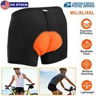 Mens Cycling Shorts Bicycle Road Bike 3D Padded Underwear/Shorts/Pants BLACK
